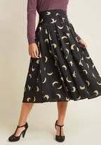 ModCloth The Peel Deal A-Line Midi Skirt in S - A-line Skirt Long