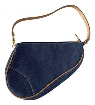 Christian Dior Saddle Blue Denim - Jeans Clutch bags