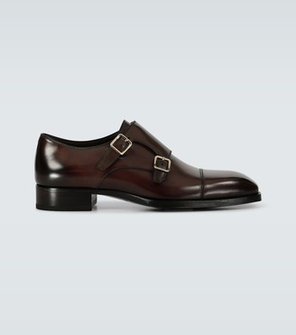 Tom Ford Elkan double monk strap shoes