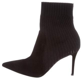 Gianvito Rossi Katie Pointed-Toe Boots