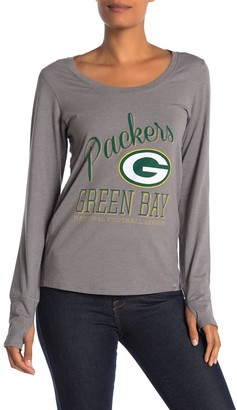 '47 NFL Green Bay Packers Long Sleeve Graphic T-Shirt