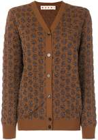 Marni textured dot pattern cardigan