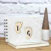 Posh Totty Designs Creates Personalised Mini Baby Memory Book