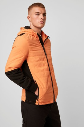 French Connenction Twill Quilted Jacket