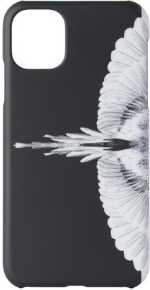 Marcelo Burlon County of Milan Black and White Wings iPhone 11 Case