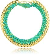 Aurelie Bidermann Do Brasil Gold and Cotton Necklace