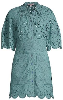 Rebecca Taylor Mina Eyelet Dress