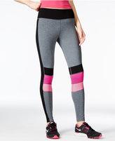 Jessica Simpson The Warm Up Juniors' Colorblocked Leggings