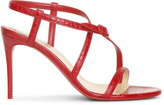 Christian Louboutin Selima 85 red sandals