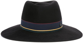 Maison Michel Charles Striped Hat