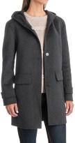 Jones New York Double-Face Hooded Coat - Wool Blend (For Women)