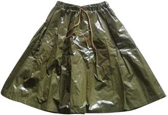 Green Cotton Erika Cavallini Skirt for Women