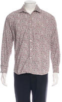 Paul Smith Floral Woven Shirt