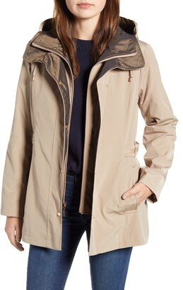 Gallery Raincoat with Removable Hood & Liner