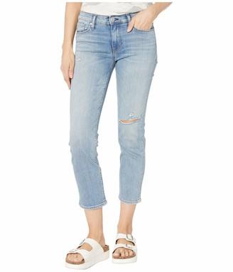 Hudson Women's Nico Mid Rise Straight Leg Crop Jean