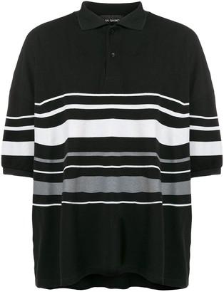 Yuiki Shimoji Oversize Striped Polo Shirt