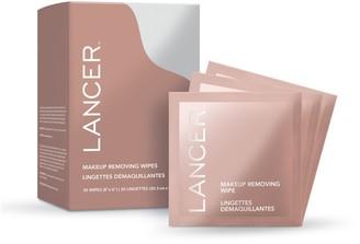 Lancer Makeup Removing Wipes, 30-Count