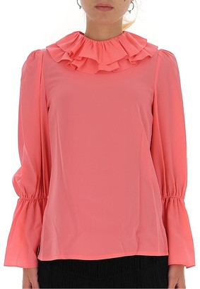 Tory Burch Frill Trim Blouse
