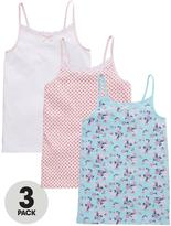 Very 3pk Ditsey/polka Dot Vests
