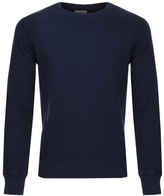 Nudie Jeans Sven Rugged Sweatshirt Navy