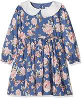 Rachel Riley Girl's Rose Peter Pan Collar Dress