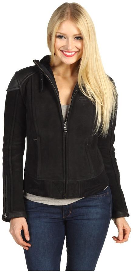 UGG Murray Bomber Jacket (Black) - Apparel