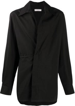 Givenchy Asymmetric Button-Front Shirt
