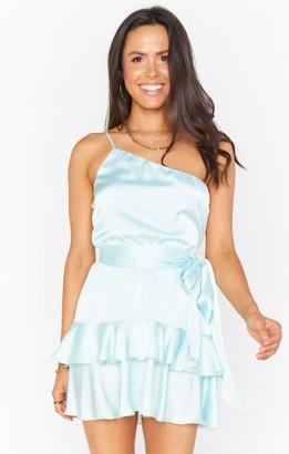 Show Me Your Mumu Superstar Ruffle Mini Dress