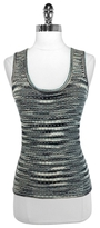 M Missoni Metallic & Wool Tank Top