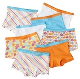 Fruit of the Loom Girls' 8-Pack Boys Shorts Underwear - Assorted Colors