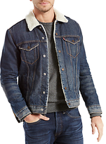 Levi's The Sherpa Denim Trucker Jacket, Lucky Town