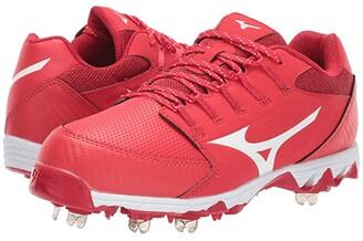 Mizuno 9-Spike Swift 6 (Red/White) Women's Shoes