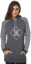 Hurley Royal Pop Womens Fleece Grey