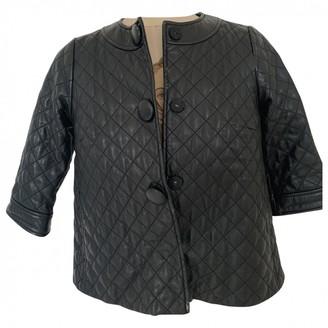 Vince Black Leather Jackets