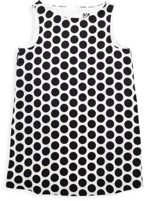Milly Little Girl's Dotted Shift Dress