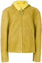 Yeezy hooded zip jacket - women - Leather - XS