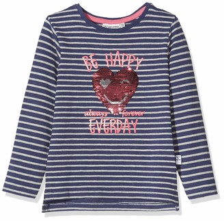 Salt&Pepper Salt and Pepper Girls' Daydream Be Happy Herz Wendepailletten Longsleeve T-Shirt