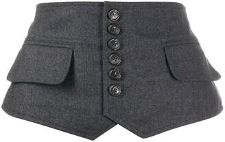 DSQUARED2 Buttoned Waist Belt