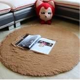 nikstoreinus Plush Shaggy Soft Round Carpet Non-Slip Water absorption Floor Rug Yoga Mat