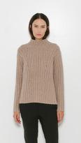 Nili Lotan Hilary Cashmere Camel Sweater