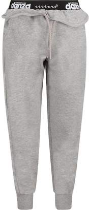 Dimensione Danza Grey Girl Pants With White Logo