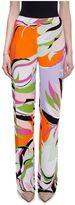 Emilio Pucci Fiore Maya Print Trousers