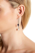 Rebecca Minkoff Stone Hard Wire Threader Earrings