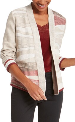 Nic+Zoe Fall Air Open Front Cardigan
