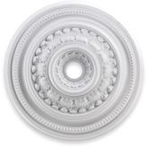 """STUDY ELK Lighting English 32"""" Ceiling Medallion - White"""