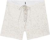 Isabel Marant Lk10 Izard Lace Short