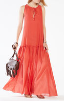 BCBGMAXAZRIA Galiana Drop-Waist Maxi Dress