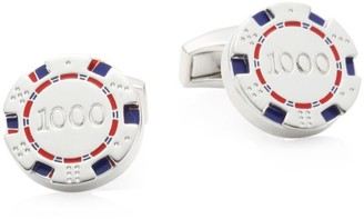 Tateossian Rotating Poker Chip Cufflinks