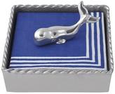 Mariposa Whale Twist Napkin Box