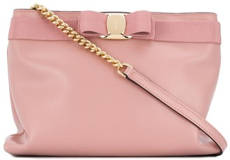 Salvatore Ferragamo Vara Bow chain strap shoulder bag